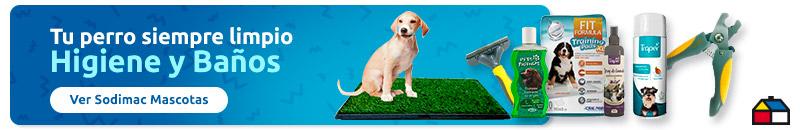 banner comercial higiene y baños para perros