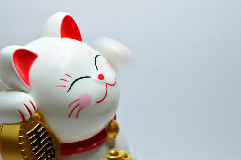 Conoce la historia del gato de la suerte o maneki neko