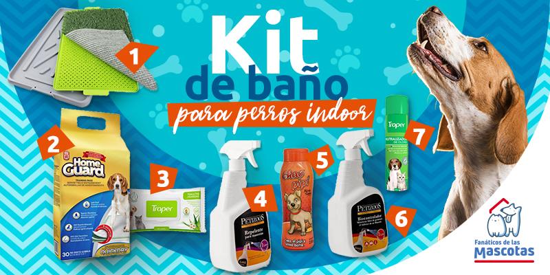 productos baños para perros