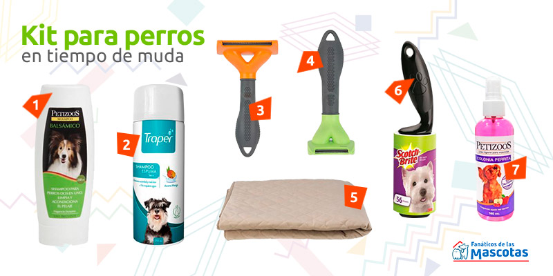 productos muda de pelo perros
