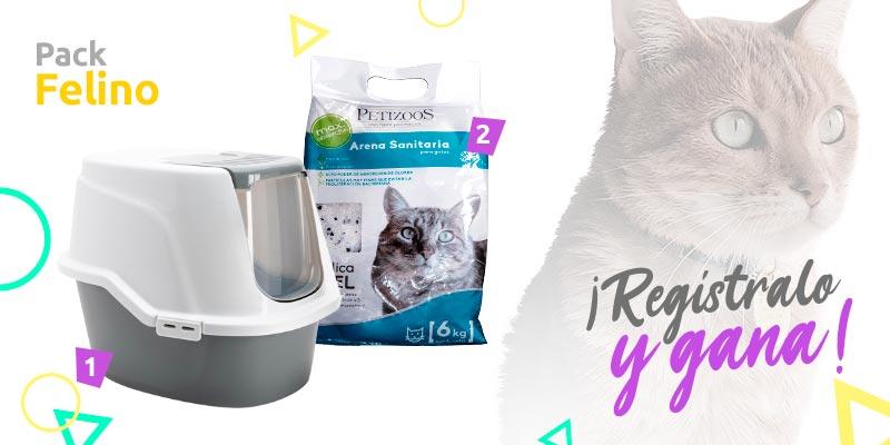 sodimac mascotas pack gato concurso