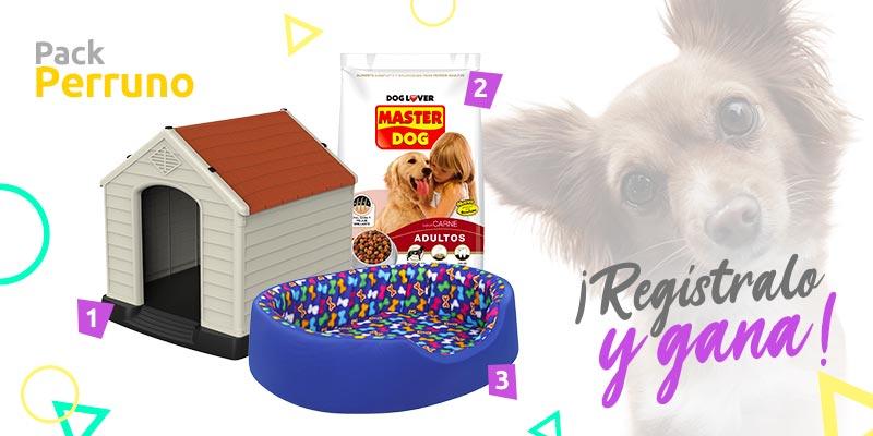 sodimac mascotas pack perro concurso