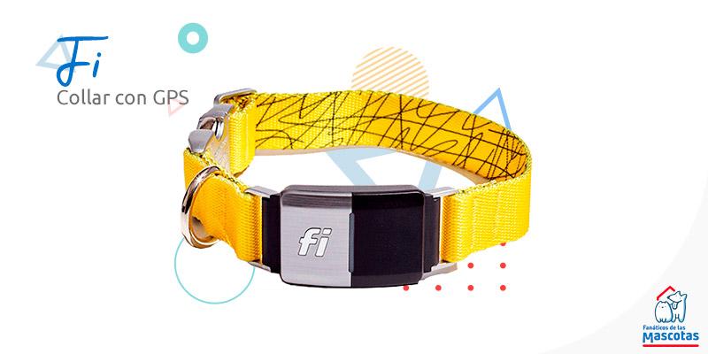 collar para perros con GPS mascotas Sodimac